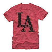 Lost Gods LA California Mens Graphic T Shirt