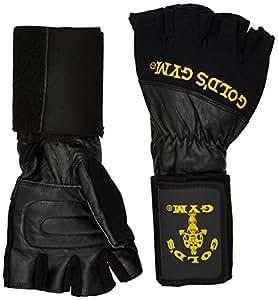 GOLD'S GYM Wrist Wrap Lifting Glove , M