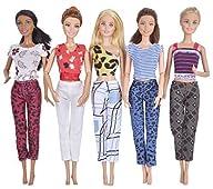 Ebuddy 5-Sets Handmade Mini Clothes O…