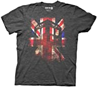 Doctor Who Tardis Union Jack Glow Men…