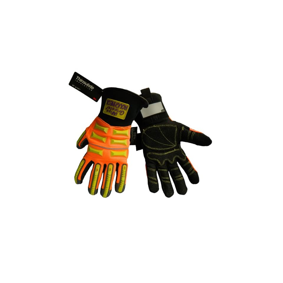 Global Glove SG9999INT Vise Gripster Winter Roughneck Glove, Work, Extra Large (Case of 72)