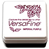 Tsukineko Small-Size VersaFine Instant Dry Pigment Ink, Imperial Purple (Color: Imperial Purple)