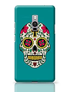 PosterGuy OnePlus Two Case Cover - Skull Tattoo Skull, Danger, Quirky, Psychedelic, Horror, Tattoo, Cool, Colors