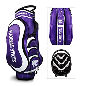 Brand New Kansas State Wildcats NCAA Cart Bag - 14 way Medalist by Things for You