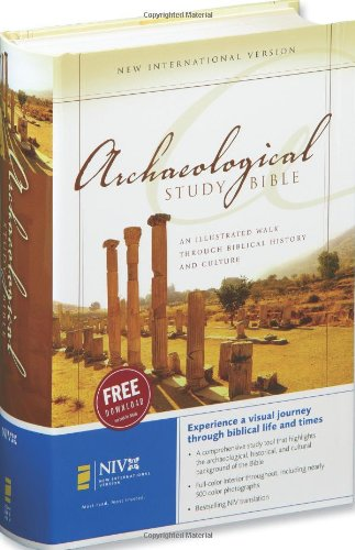 Niv Archaeological Study Bible: An Illustrated Walk Through Biblical History And Culture front-907458