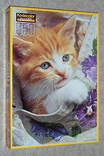 Peek a Boo Kitty 550 Piece Puzzle - 1