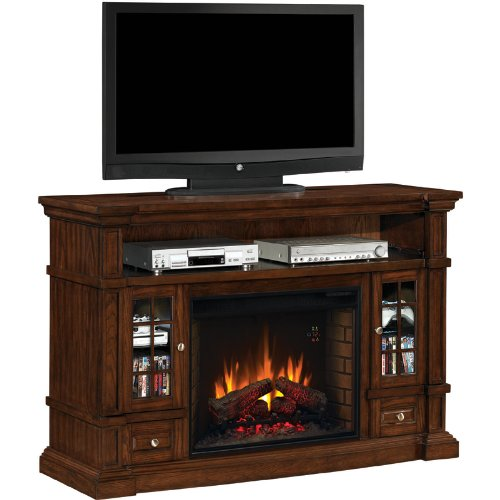 Belmont 28-Inch Electric Fireplace Heater with Media Console image B00EE6A3KI.jpg