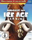 DVD & Blu-ray - Ice Age 1, 2, 3 & 4 (Mammut-Box) (4 Blu-rays) [Blu-ray]