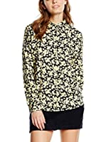 Maison Scotch Blusa (Crudo / Negro)