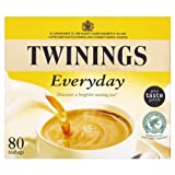 Twinings Everyday 80 Teabags 250g - Pack of 4