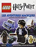 Lego Harry Potter, l'album d'autocollants - tome 1 - Lego Harry Potter, l'album d'autocollants : Les Aventures magiques...