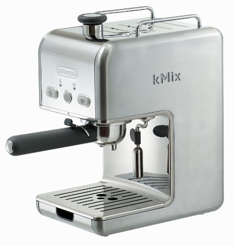 Cheapest Price! DeLonghi Kmix 15 Bars Pump Espresso Maker, Stainless Steel