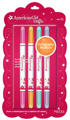 American Girl Crafts Fancy Lettering Markers