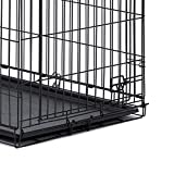 "Midwest Homes for Pets 9PAN Crates, 42"", Black"