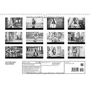 TATTOO GIRL KALENDER (Wandkalender 2016 DIN A3 quer): TATTO GIRL KALENDER (Monatskale