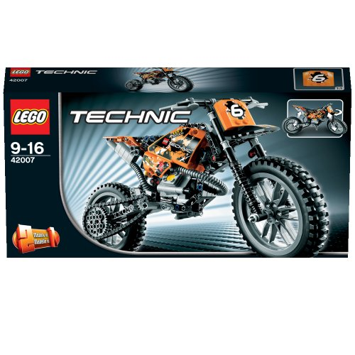 lego technic 42007 moto cross bike new. Black Bedroom Furniture Sets. Home Design Ideas