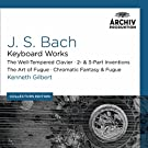 Bach, J.S.: Keyboard Works; the Well-Tempered Clavier; 2- & 3- Part Inventions; the Art of Fugue; Chromatic Fantasy & Fugue