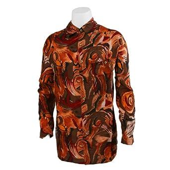Men 39 s silk shirt at amazon men s clothing store button for Mens silk shirts amazon