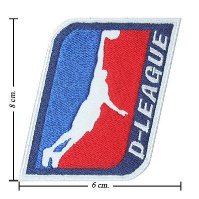Nba D-League Championship 2007 Embroidered Iron On Patch