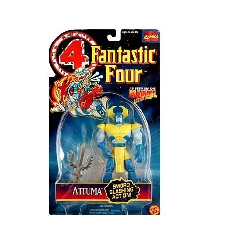 Fantastic Four Attuma Action Figure - 1
