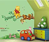 WallStickersUSA Winnie the Pooh Tiger Sitting on a Branch Wall Sticker and Decal