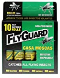 Flyguard Fly Catcher Catches All Flying Insects 10 Roll