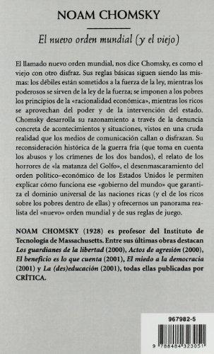 El nuevo orden mundial: (y el viejo) (Biblioteca De Bolsillo)
