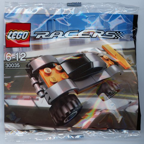 LEGO Mini Racer Orange (Bagged) [Toy]