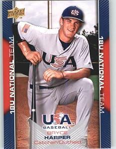 Buy 2009-10 Upper Deck USA Baseball Card # USA-30???? ??Bryce Harper Rookie - Prospect Team USA - 18U... by Upper Deck