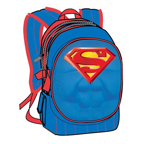 Superman Backpack Padded Chest Plate