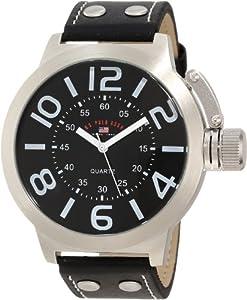 U.S. Polo Assn. Classic Men's US5207 Black Analog Watch