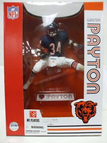 Buy McFarlane Toys NFL Sports Picks 12 Inch DELUXE Action Figure Walter Payton (Chicago Bears) Blue Jersey Variant