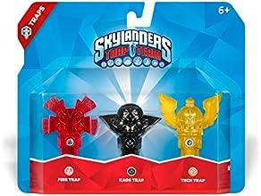 Skylanders Trap Team: Pack De 3 Trampas (Totem-Fuego/Flying Helmet-Tecnología/Kaos)