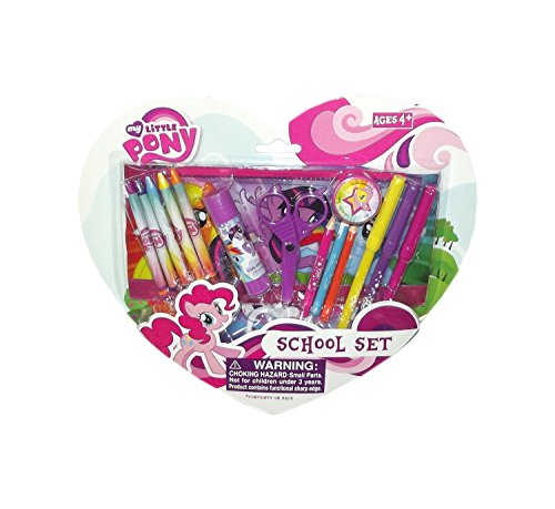 My Little Pony Crayons and Color Pen School Set - 1