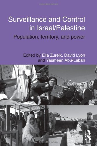 Surveillance And Control In Israel/Palestine: Population, Territory And Power (Routledge Studies In Middle Eastern Politics) front-722381