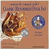 More Than Gourmet Graisse De Canard Gold Rendered Duck Fat, 12-Ounce Package