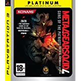 Metal Gear Solid 4 : Guns of the Patriots - platinumpar Konami