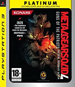 Metal Gear Solid 4 : Guns of the Patriots - platinum