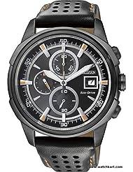 Citizen Eco-Drive Analog Black Dial Men's Watch CA0375-00E