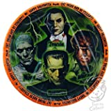 """Universal Monsters Halloween Party 7"""" Dessert Plates 8 pack"""