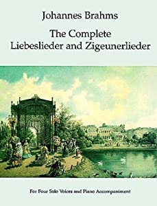 Johannes Brahms The Complete Liebeslieder And Zigeunerlieder Alto Dover Song Collections by Dover Publications