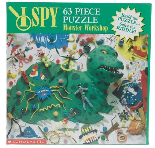 I Spy Puzzle - Monster Workshop