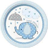 Boy Umbrellaphants Plates