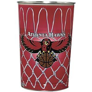 Wincraft Atlanta Hawks Wastebasket - Atlanta Hawks 15 x 10 Inches by WinCraft