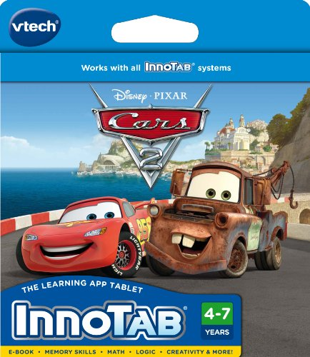 Vtech - Innotab Software - Cars 2 front-881223