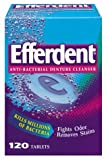 Efferdent Denture Cleanser, 120-Count Tablets (Pack of 3)