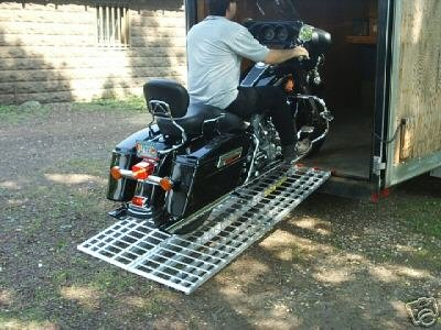 Aluminum Ramp 6 ft. - Motorcycles Onto Trailers - Ramps