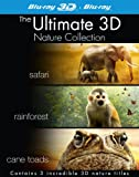 The Ultimate 3D Nature Collection (Safari 3D, Rainforest 3D, Cane Toads 3D: The Conquest) (Blu-ray 3D + Blu Ray)