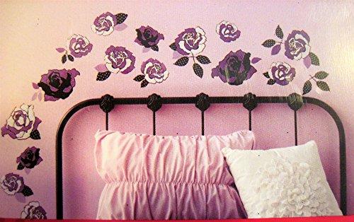xhilaration-lace-rose-purple-glittery-wall-decals
