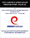 Section 608 Certification Exam Preparatory Manual (English) - 1930044003